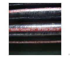 Textile Cord Wires Spiral Mul Rubber Concrete Pump Hose