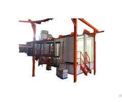 Powder Coating Plant Full Automatic With Pretreatment Spray System