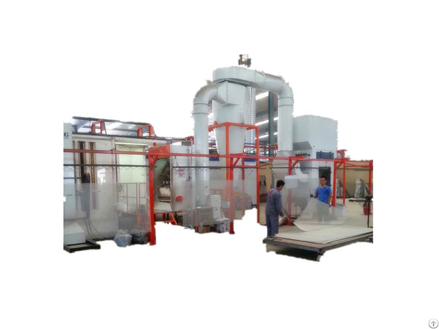 Powder Coating Plant With Cyclone Recovery System