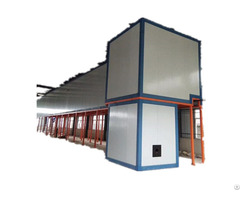 Gas Curing Oven In Powder Coating Line