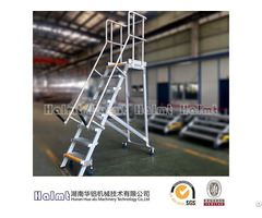 China Manufacture Aluminum Ladders With Hand Rails