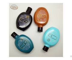 Custom Logo Pet Plastic Lotion Toner Bottle For Skin Care Products