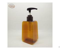 New Design Empty Pet Plastic Shampoo Bottle