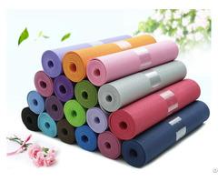 Custom Label Exercise Mat For Yoga Pilates Eco Friendly