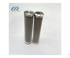 Stainless Steel Hydraulic Oil Corrugated Filter For Air Blower Factory Filtration