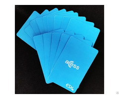 Free Sample Contactless Paper Pet Pvc Access Control Rfid Smart Cards