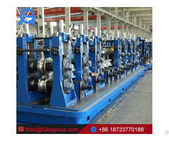 High Frequency Straight Seam Welded Pipe Mill Tube Machine