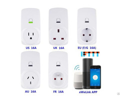 Wifi Smart Socket Ewelink App Control