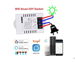 Wifi Breaker Diy Switch 16a Smart Life App Control