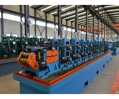 Steel Tube Making Machine Production Line High Quality Pipe Mill
