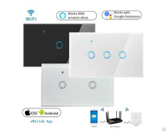 Us Standard Wifi Smart Touch Wall Switch