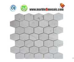 White Marble Mosaic Tiles In Cheap Price