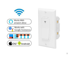 Us Standard Smart Wifi Button Wall Switch