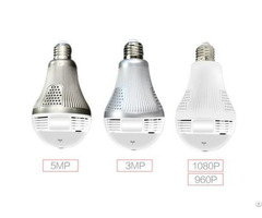 Wifi 360° Panoramic Light Bulb Camera