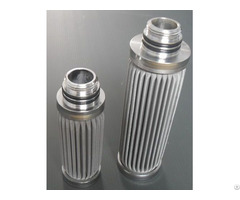 Stainless Steel Sintered Mesh Filter Cartridges
