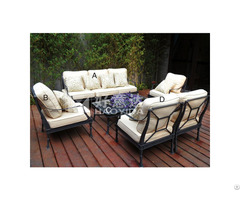 Outdoor Aluminium Sofa Set