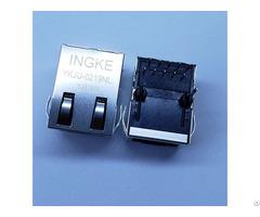 Jxd1 0005nl Through Hole 1 Port 100base Tx Rj45 Magnetic Jack Connectors