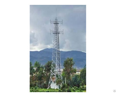 China High Strength Anti Seismic Corrosion Communication Tower Supplier