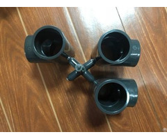 Three Way Plastic Pipe