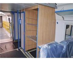 Poplar Closet Plywood For Train Toilets Luggage Counters Control Cabinets