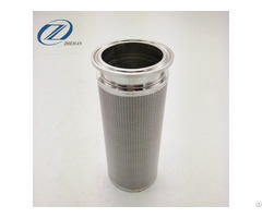 Stainless Steel Sintered Screen Filter Cartridge For Milk Filtration