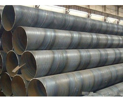 Spiral Submerged Arc Welded Pipes Line