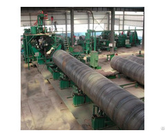 Large Spiral Steel Tube Mill Line