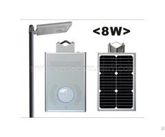 8w Integrated Solar Street Light