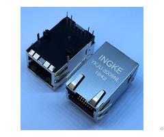 Rjmg163128101nr Ykju 8009nl 1 Port 100base T Through Hole Magnetic Modular Rj45 Jacks