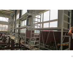 European Certification Aluminium Ladder And Door Frame Scaffolding