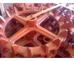 Agriculture Roller Ring Casting Cambridge Wheels