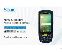 Rfid Handheld Terminal For Data Collection New Autoid 9