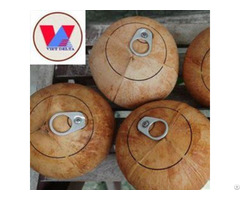 Fresh Coconut With Ring Pull