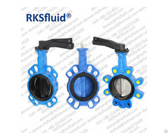 China Factory Oil Water Gas Center Line Eccentric Butterfly Valve