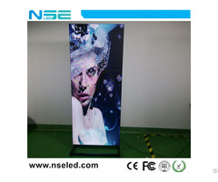 576x1920mm Super Slim Shopping Mall Video Indoor P3mm Digital Led Poster Screen