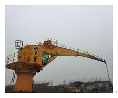 Offshore 3t40m Telescopic Boom Crane