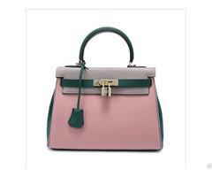Manufacturer Custom Designer Woman Handbag Genuine Leather Shoulder Bag