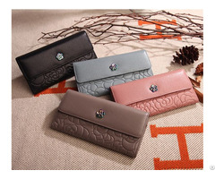 Leather Purse Manufactures In China Competitive Price Ladies On Sale