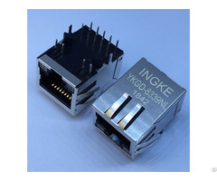 Trp 6605444 6 Ykgd 8339nl Through Hole 1 Port 1000 Base T Rj45 Lan Jacks With Integrated Magnetics