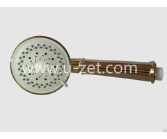 Hand Held Shower Heads Gold Coating