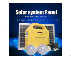 Solar Power Supply Lighting Kit