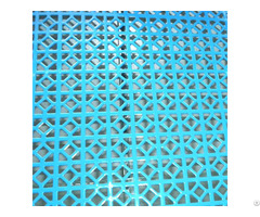 Powders Coated Galvanized Perforated Panels For Roof And Wall