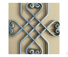 Wrought Iron Ornaments Groupware And Flowers For Balusters Gates