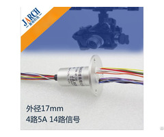 High Speed Customized Collect Electrical Light Drone Capsule Slip Ring