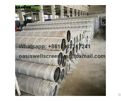Stainless Steel Wire Wrapped Johnson Screens Pipe China Manufacturer
