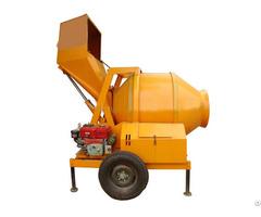 Jzf350 A Large Industrial Diesel Automatic Concrete Mixer