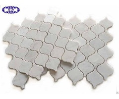 White Marble Lantern Mosaic