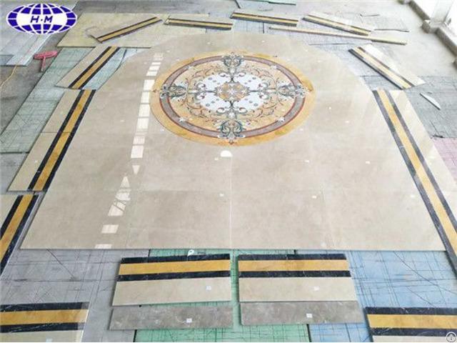 Tile Medallion Inlay Patterns