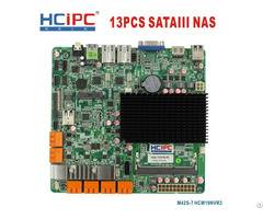 Hcipc M42s 6 And 7 Hcm19nvr3 Intel J1900 13sata3 Nas Motheboard Mini Itx Motherboard