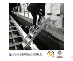 Aluminum Rescue Step Ladders For Rail Vehicle
